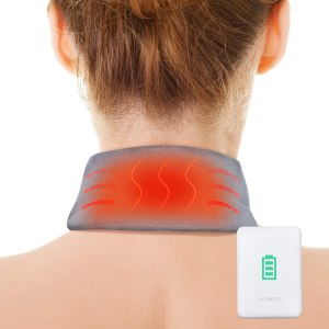 AKASO Heating Pad for Neck Pain & Stiffness Relief