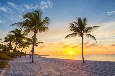 Sunrise on the Smathers beach