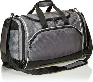 Amazon basics duffel, gym bag essentials