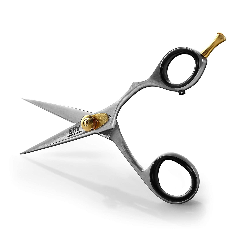 BRV Men Mustache and Beard Scissors; best beard scissors and best mustache scissors