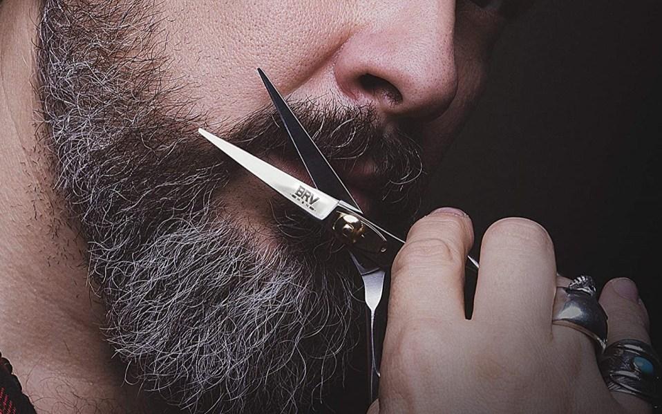 Man uses BRV Beard and Mustache