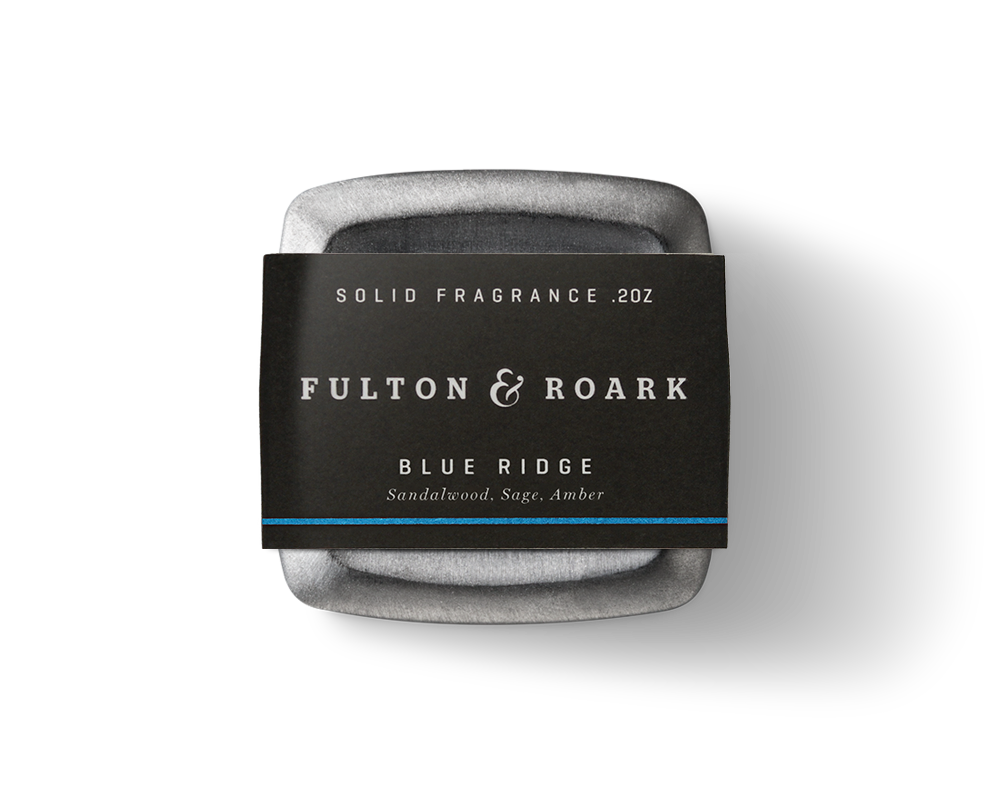 Fulton & Roark Solid Cologne Blue Ridge, Best Colognes for Father's Day