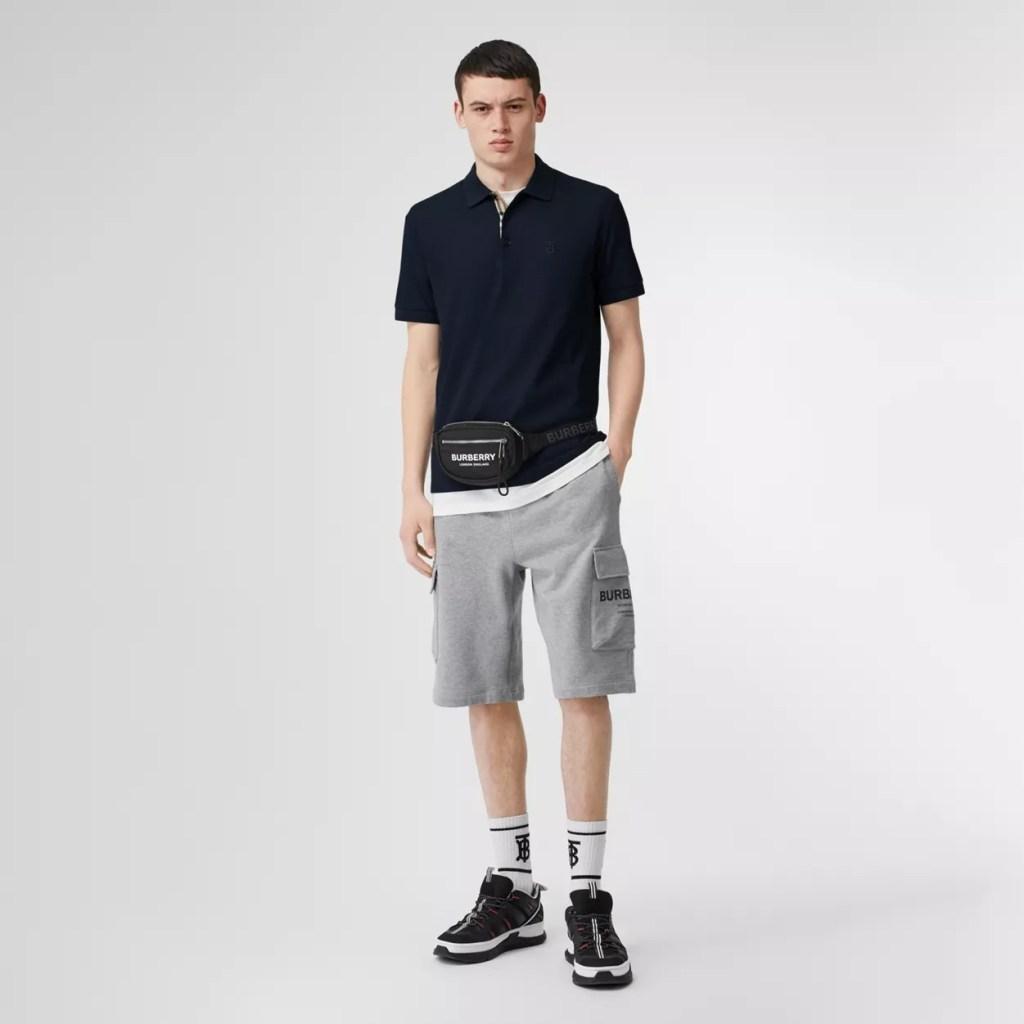 Burberry-Monogram-Motif-Cotton-Pique-Polo-Shirt Best Mens Polo SHirt
