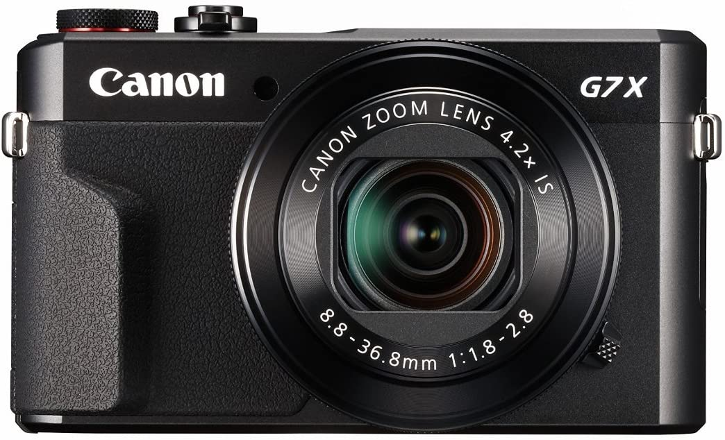 Canon PowerShot G7 X Mark II in black