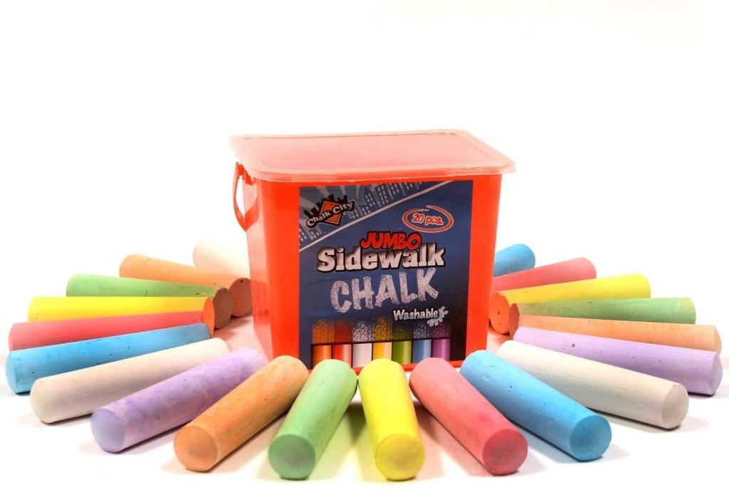 Chalk City Non-Toxic Sidewalk Chalk