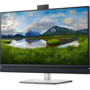 Dell 27 video conferencing monitor, monitor with webcam