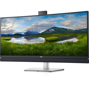Dell 34 curved monitor, monitor with webcam