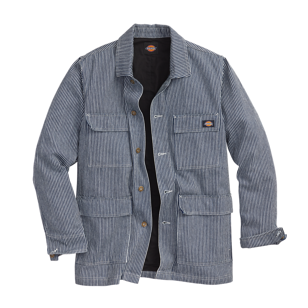 Dickies-Hickory-Stripe-Chore-Jacket-Clean-Utility