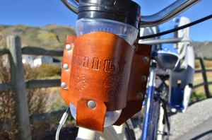 drinkslings personalized cup holder bike