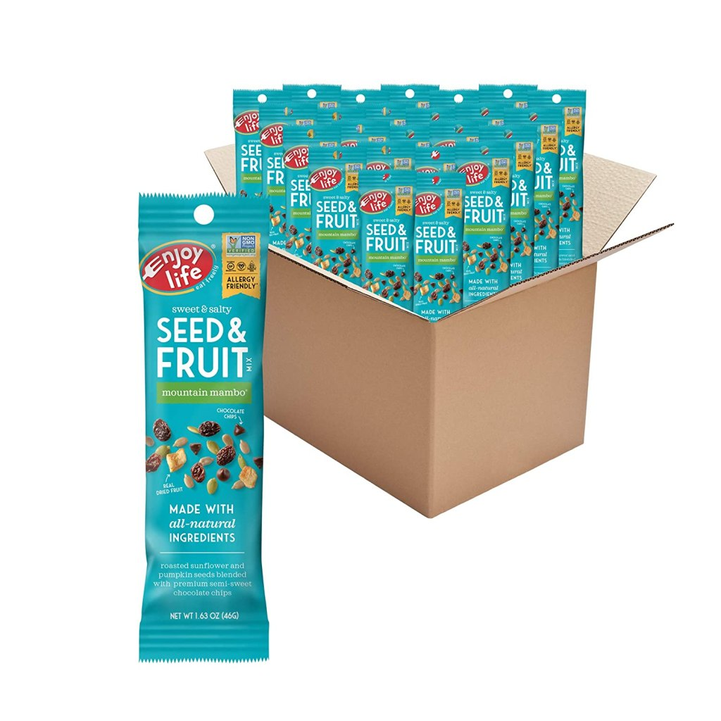 Enjoy Life Foods Seed and Fruit Mix, best allergen-free snack