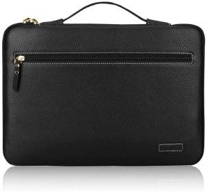 fyy premium leather laptop sleeve case