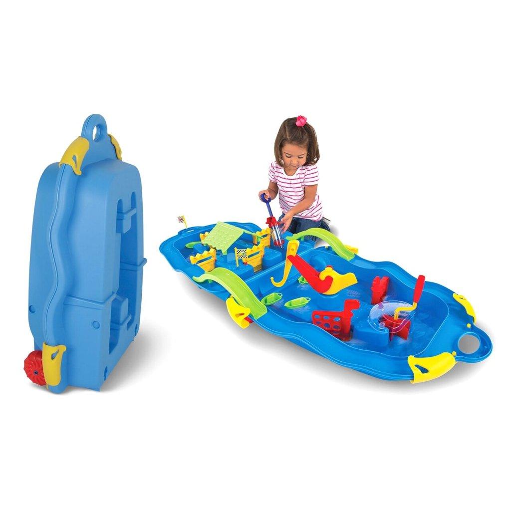 Folding Water Fun Trolley Play Set Sand & Water Table