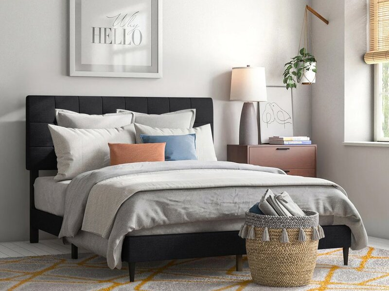 forsan tufted bed
