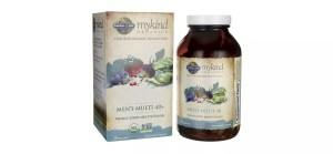 Myknd Organics Men's Multi 40+, best multivitamins for men