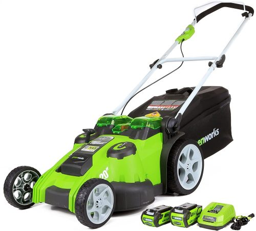 Greenworks Twin Force Electric Lawn Mower