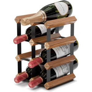 HB Design Co. wine rack, how to store wine