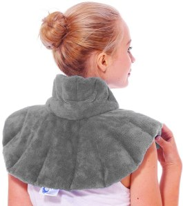 HUGGAROO Original Microwavable Heating Pad for Neck and Shoulders