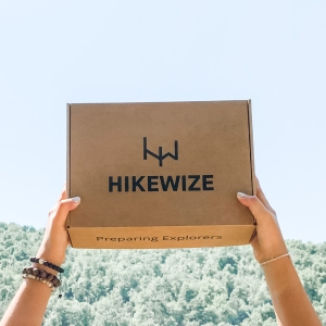 hikewize hiking box, outdoor subscription boxes