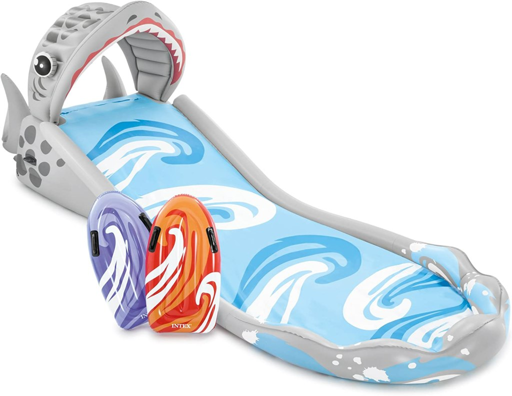 INTEX shark slip and slide