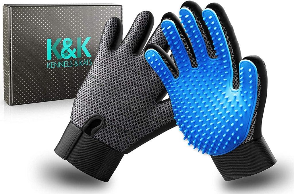 kennels kats new version pet grooming gloves