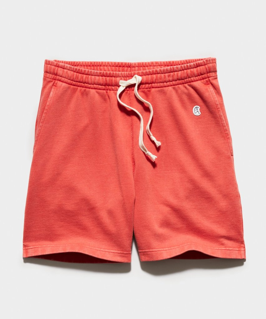 """Sun-Faded 7"""" Midweight Warm Up Short"""
