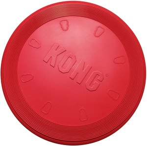 KONG rubber dog toy, frisbees for dogs