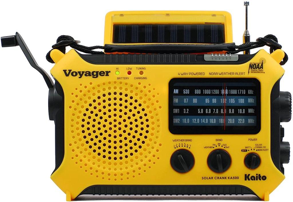Kaito Solar Powered Radio With Flashlight