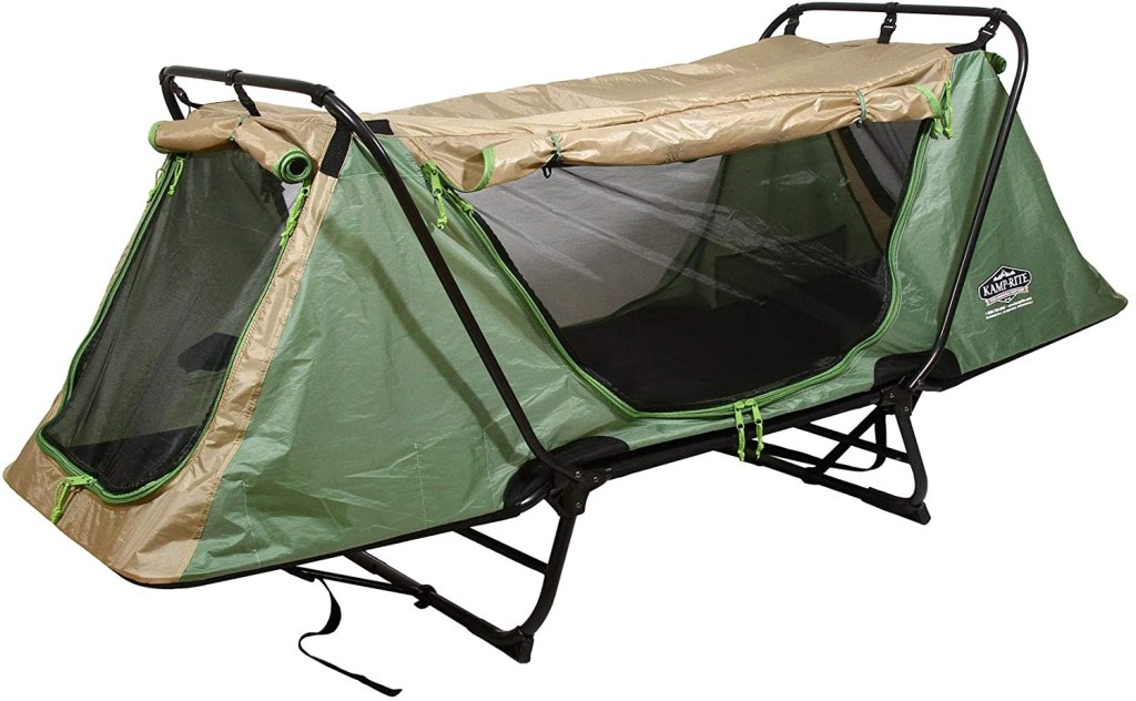 Kamp Rite Portable Durable Camping Cot, Chair, Tent