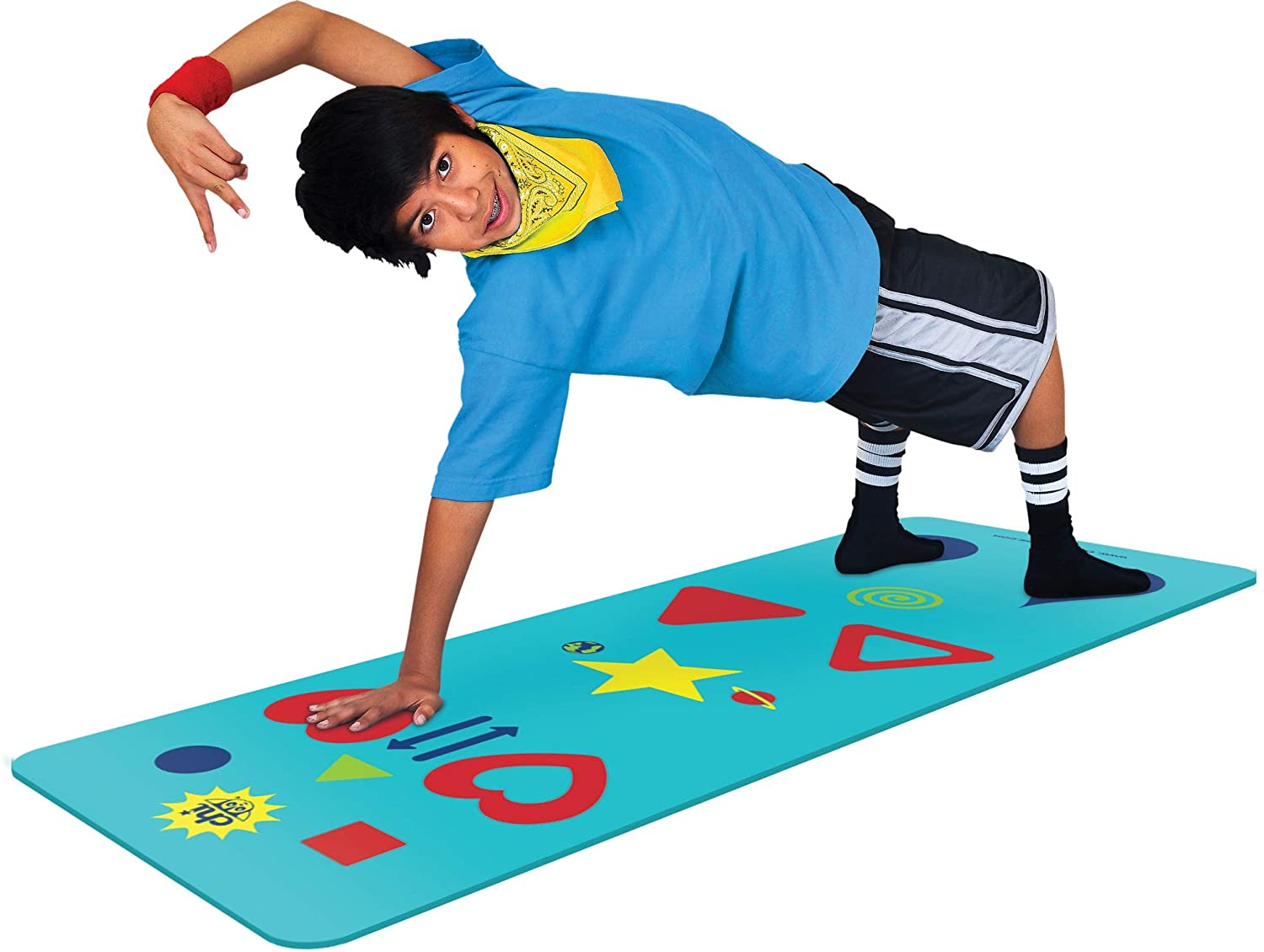 Chi Flow and Phreeze Yoga Mat and Game