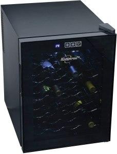 Koolatron wine fridge, how to store wine