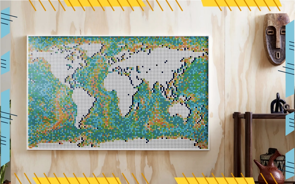 LEGO map set