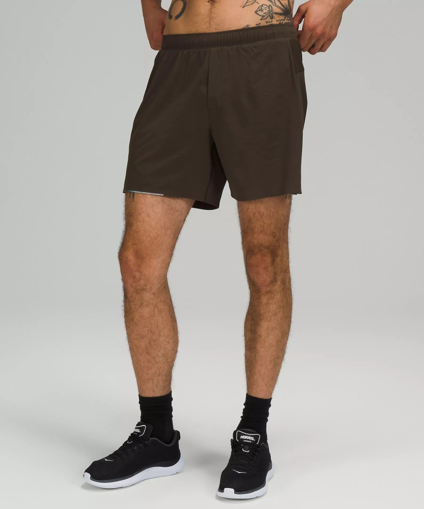 "Lululemon Surge Short 6"" Liner, best running shorts"