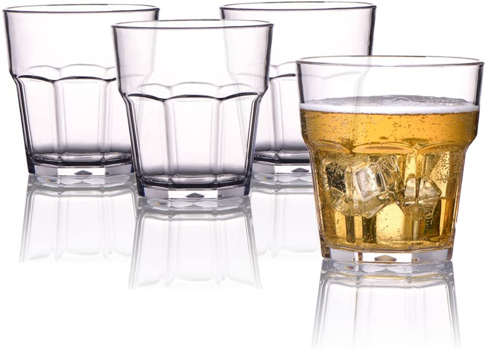 MICHLEY Unbreakable Drinking Glasses