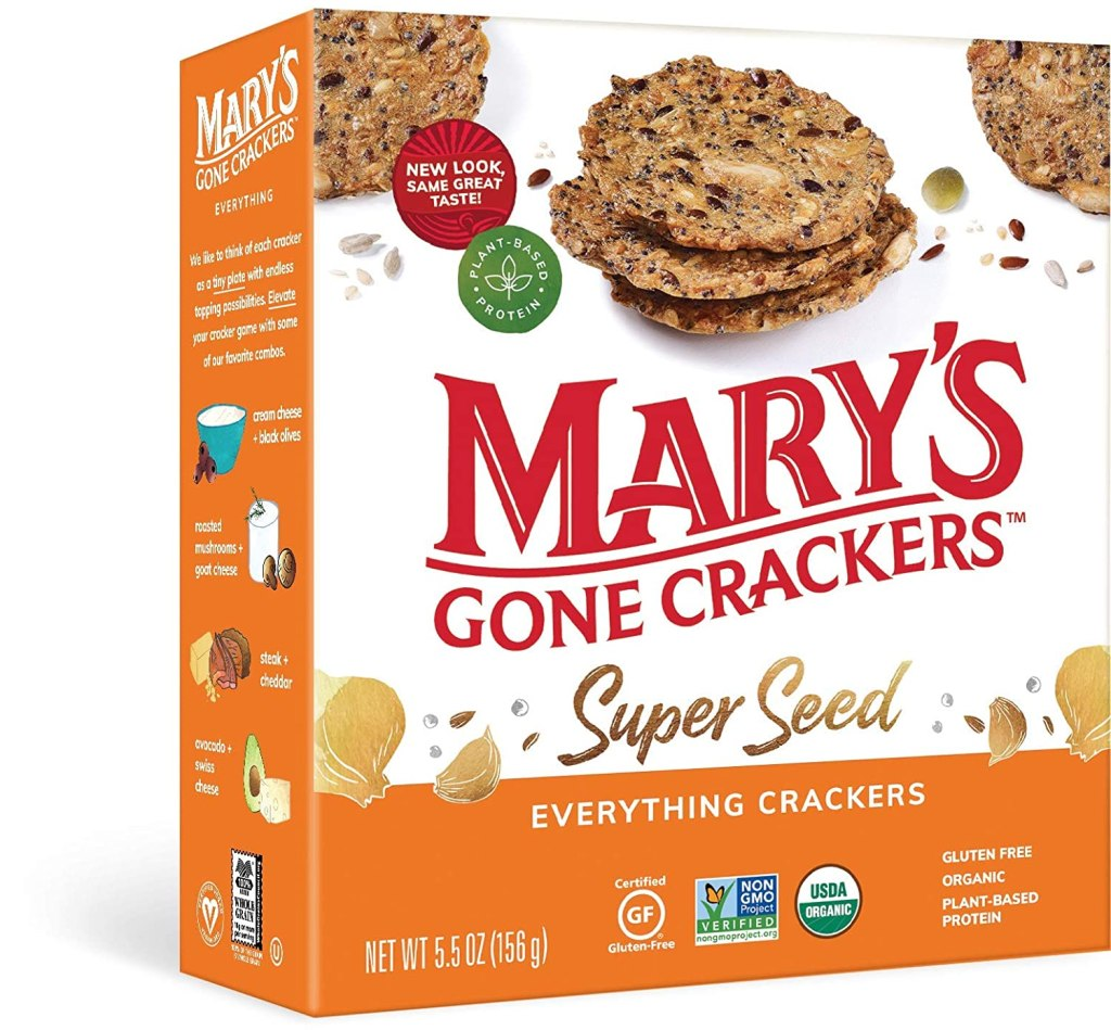Mary's Gone Crackers Super Seed Crackers
