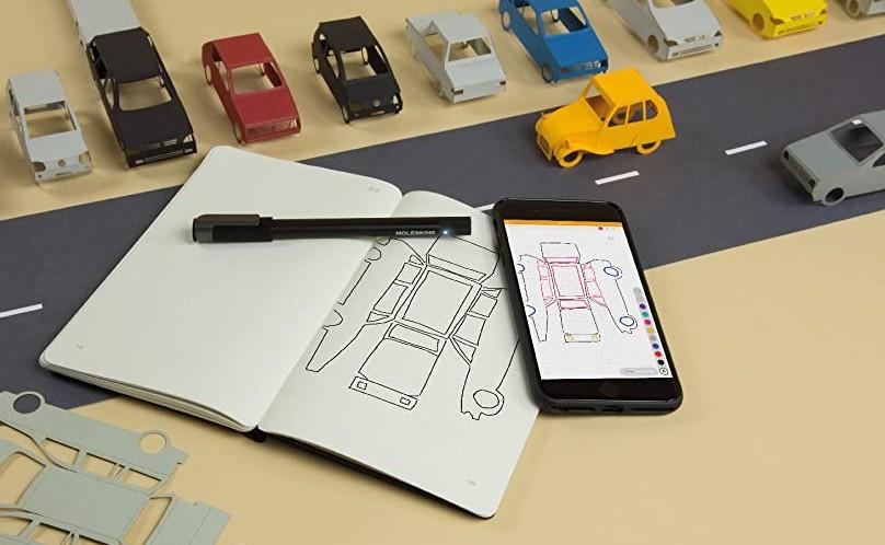 Moleskine Pen Ellipse Notebook with pen