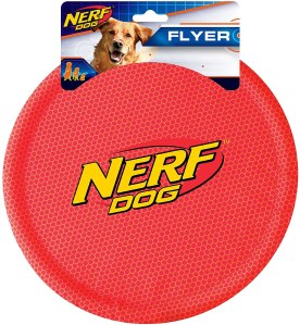 Nerf flyer dog frisbee, best frisbees for dogs