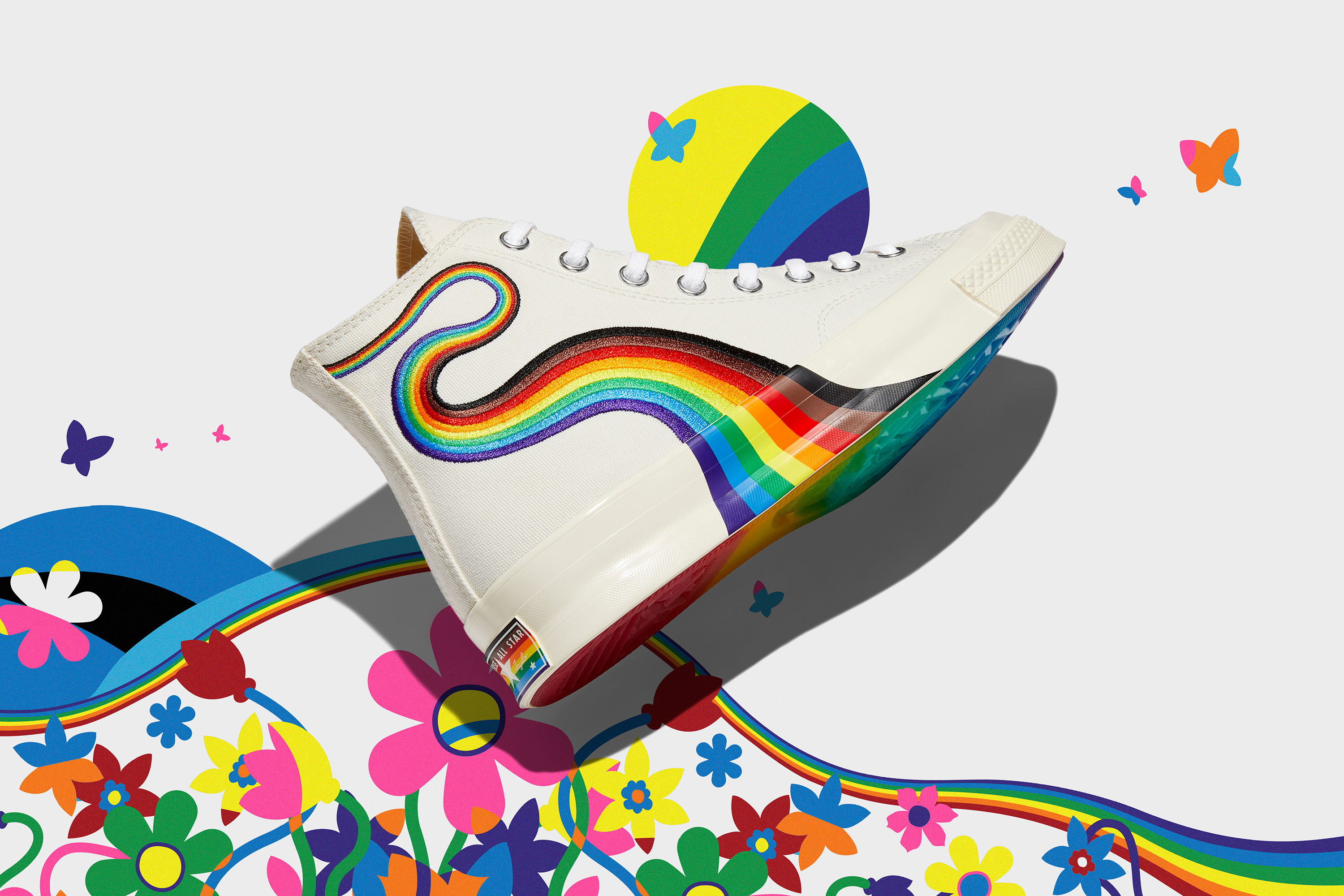 Converse's 2021 Pride Collection Is Here, And It's Incredible | SPY