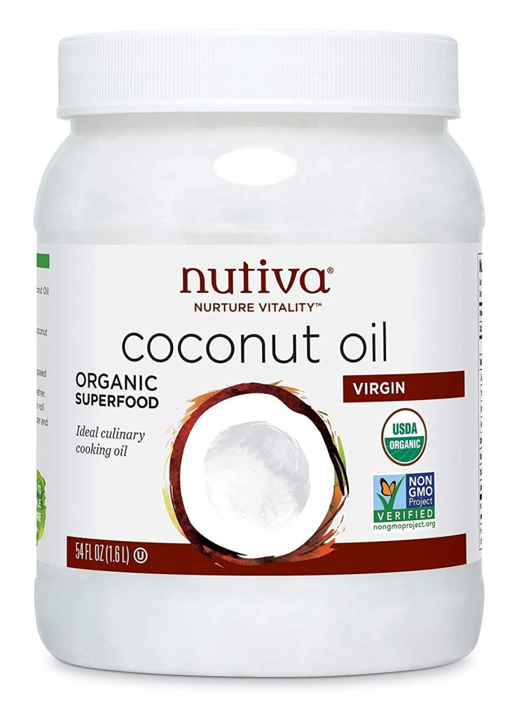 Nutiva's Organic Virgin Coconut Oil, Best Cuticle Oils