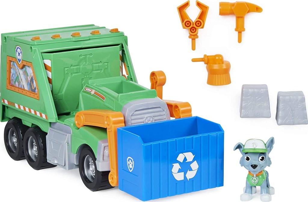 Paw Patrol Rocky's Reuse It Deluxe Truck