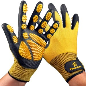 pawradise pet grooming gloves