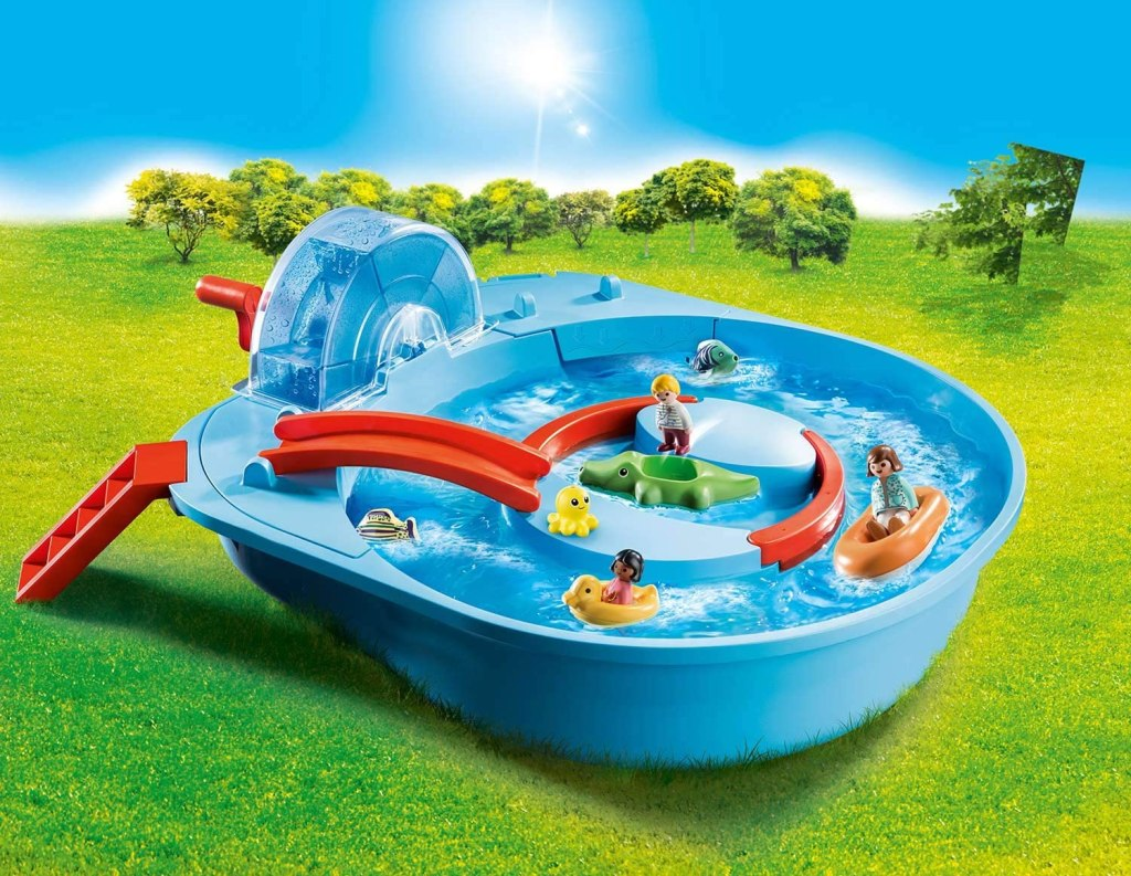 Playmobil 1.2.3 Aqua Splish Splash Water Park, best new toys for kids 2021