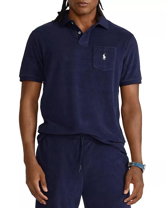 Polo-Ralph-Lauren-Classic-Fit-Terry-Polo-Shirt best mens polo shirt