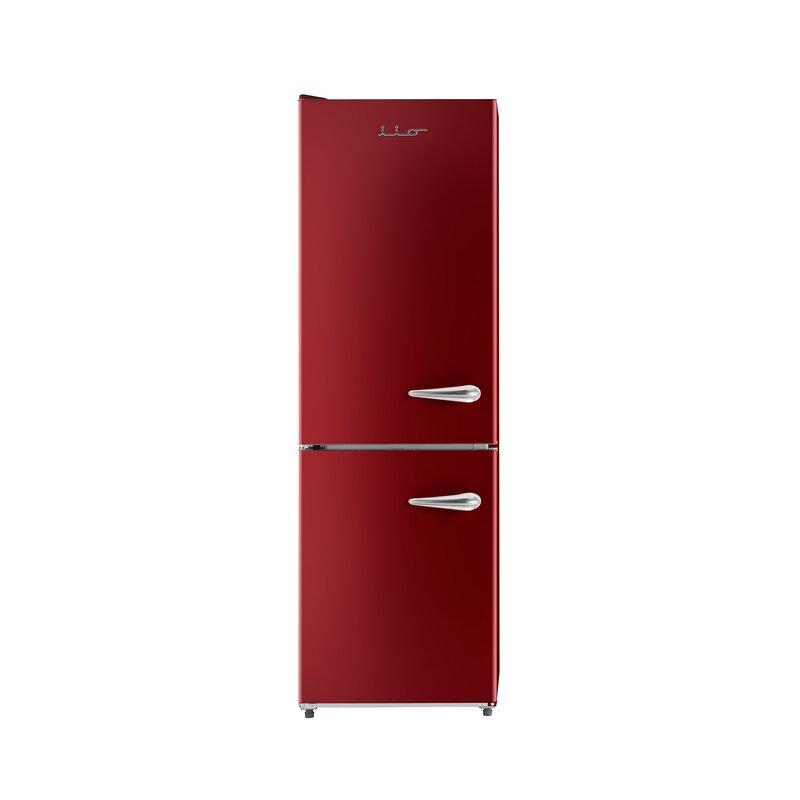 Retro 24'' Bottom Freezer 11 cu. ft. Energy Star Refrigerator