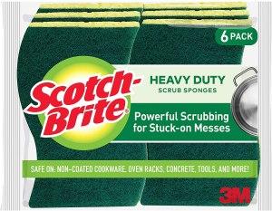 Scotch-Brite sponges, how to clean a bathtub