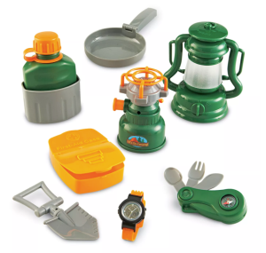 learning resources play camping set, best mud kitchens for kids
