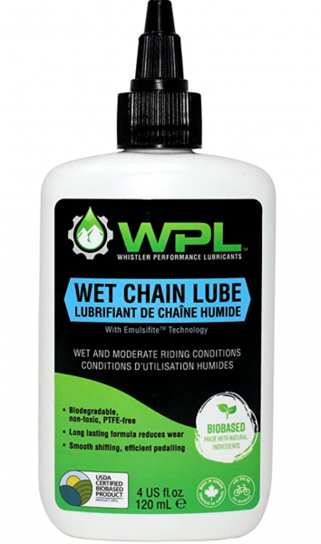 WPL Wet Bicycle Chain Lubricant