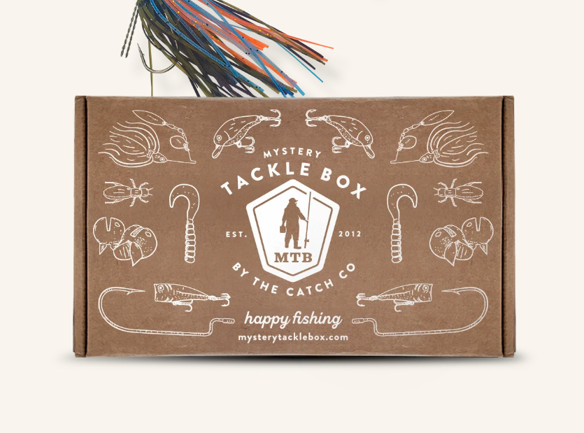 mystery tackle box, outdoor subscription boxes