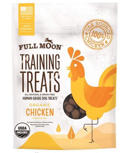 Full Moon Organic Training Treats