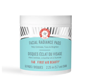 first aid beauty facial radiance pads, chemical exfoliants for face