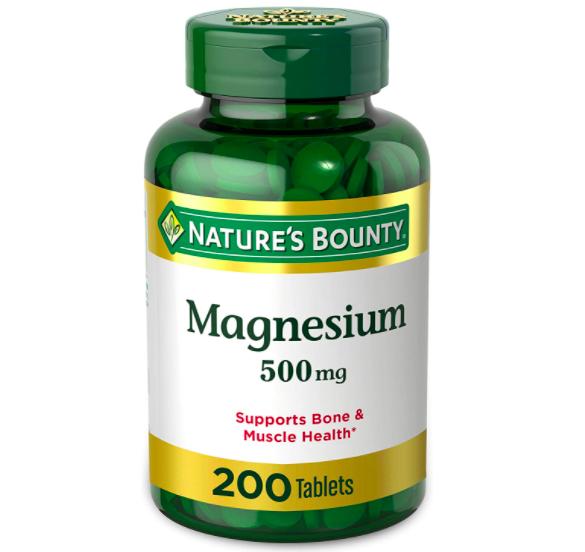 natures bounty magnesium